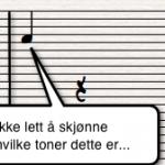 stort notesystem