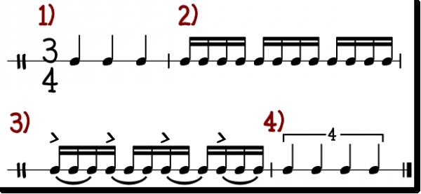 4 mot 3 i praksis