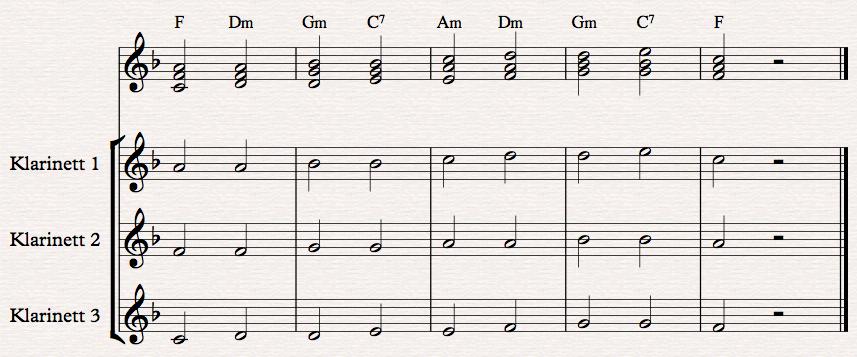 klarinettversjon